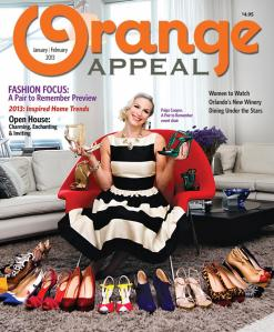 Orange Appeal January Cover